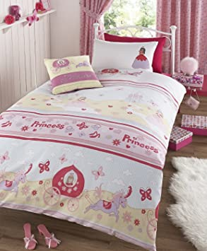 Homespace Direct Once Upon A Time Parure De Lit Double Pour Fille