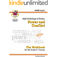 GCSE English Literature AQA Poetry Workbook: Power & Conflict Anthology (includes Answers): perfect for catch-up…