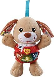 VTech - Peque Perrito de Peluche Interactivo con Canciones Voces y Actividades Que estimulan al bebé