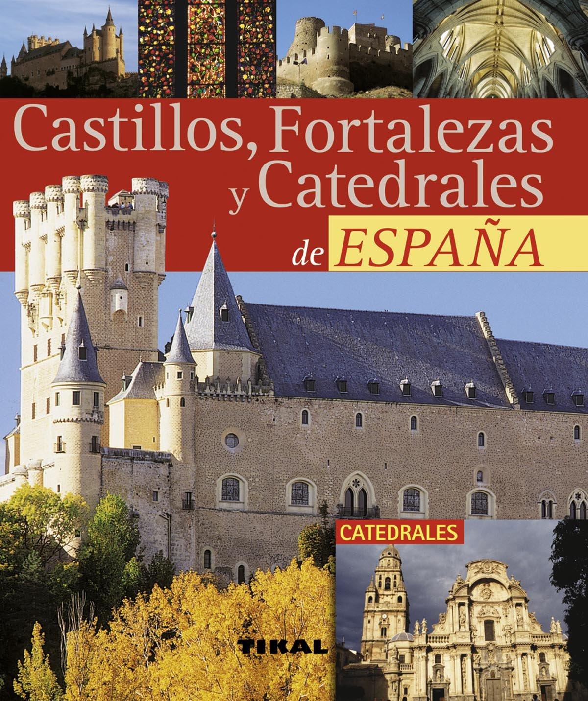 Castillos, Fortalezas Y Catedrales España Pequeños Tesoros: Amazon ...
