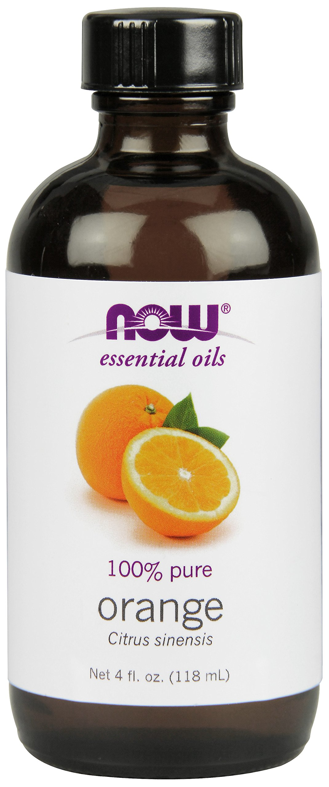 NOW Orange Oil, 4-Ounce