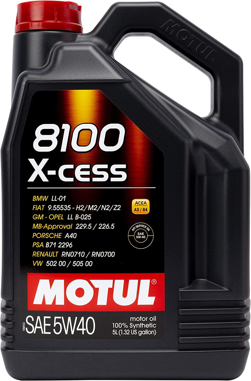 Motul 5W-40合成汽油和柴油发动机油