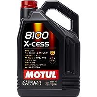 Motul 7250 motorolie 8100 X-Cess 5W40 5 liter, 5 liter (169.07 ounces)