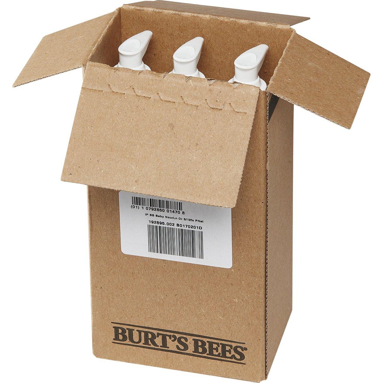 Burt's Bees Baby Nourishing Lotion, Original, 12 Ounces (Pack of 3) by Burt's Bees (Image #4)