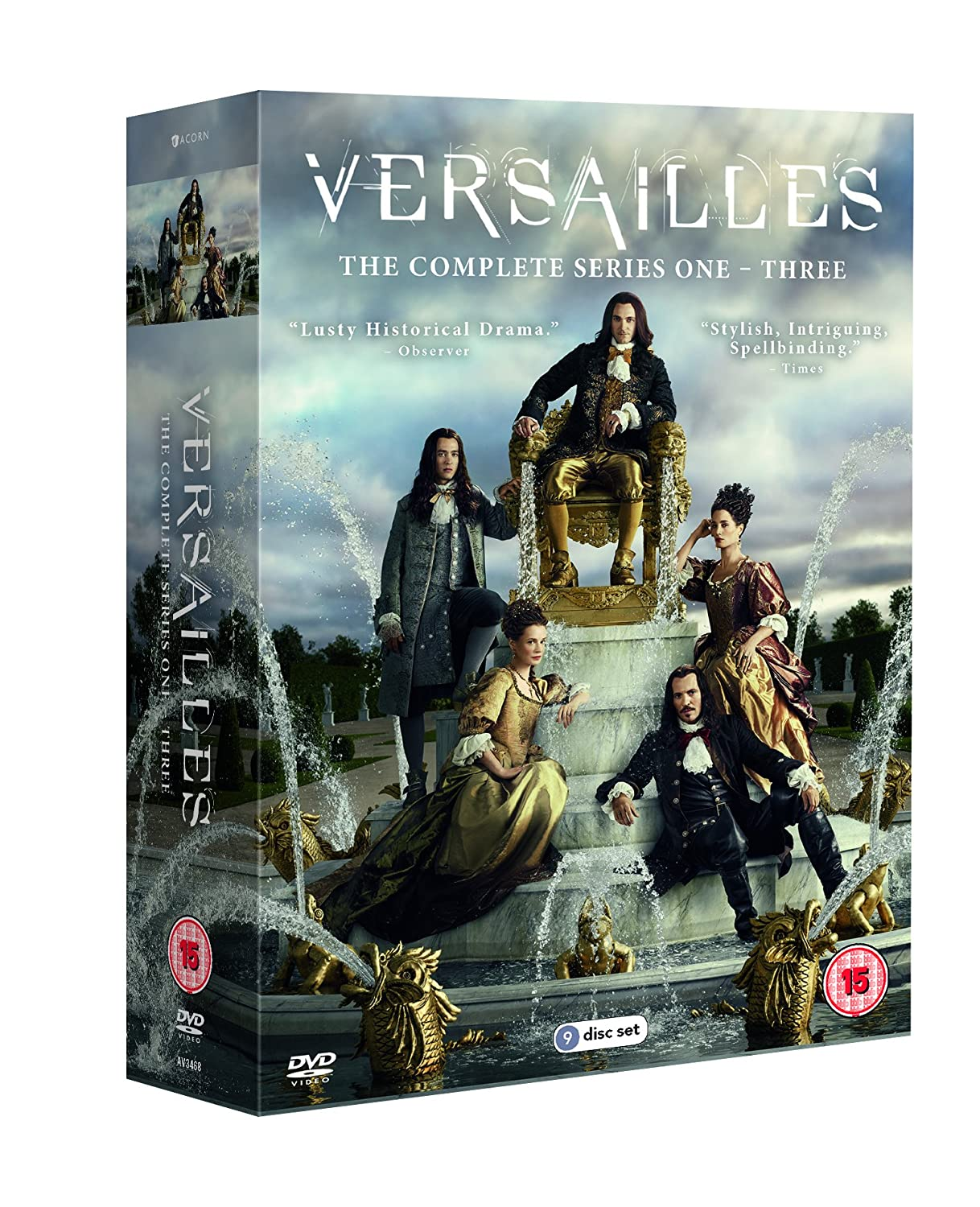 Versailles: Series 1-3 Complete Box Set