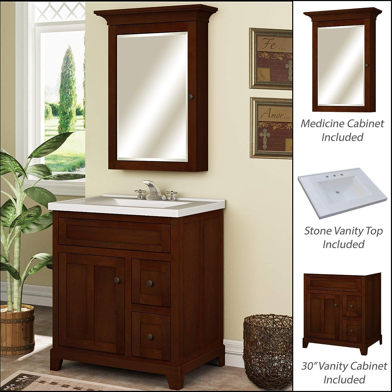 Bathroom Vanity Sets | Amazon Com Miseno Mvgh30com 30 Bathroom Vanity Set Cabinet