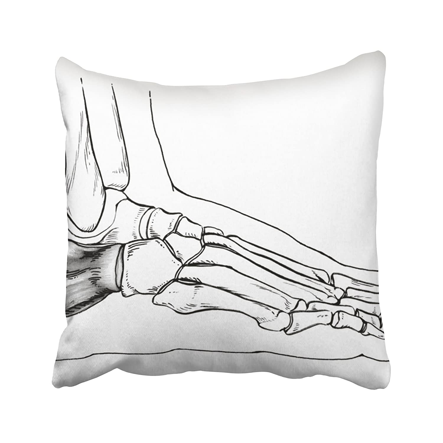 Amazon Emvency Anatomy Foot Side View Drawing Of Normal Human