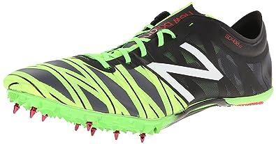 New Balance Men's MSD400V2 Sprint Spike Running Shoe,Black/Lime,11 ...