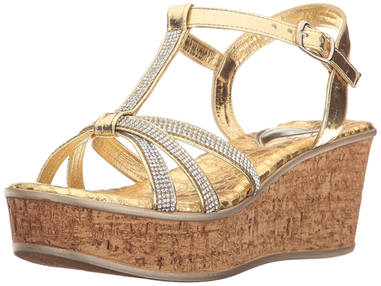 Love & Liberty Women's Caron-Ll Wedge Sandal B01N5RE3CQ 11 B(M) US|Gold