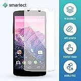 Panzerglas Folie für LG Google Nexus 5 • Panzerfolie mit 9H Härte • Blasenfreie Montage der Folie • Ultra-Dünn (0.3 mm) • Gerundete Kanten (2.5D) • Displayschutzfolie mit Anti-Fingerabdruck
