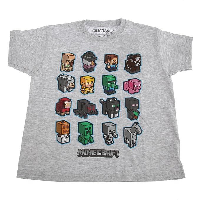 Minecraft Personaggi Corte BambinoAmazon Maniche A Con Maglietta WYeEIb2HD9