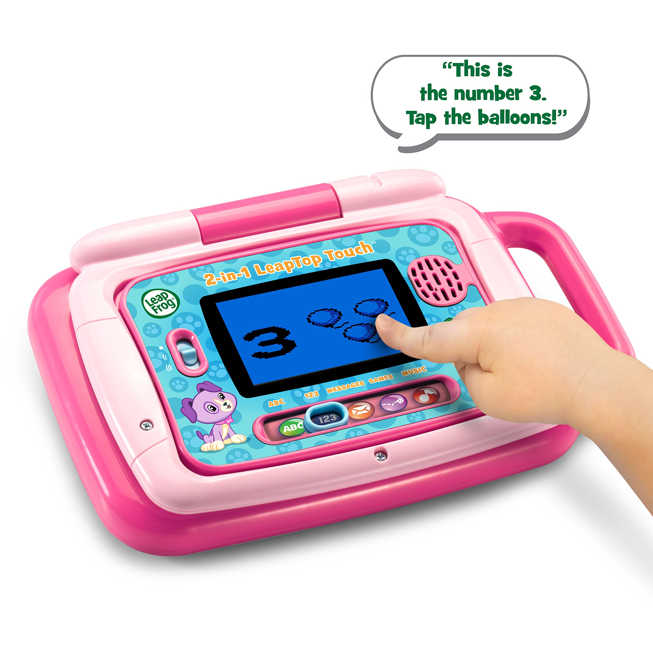 LeapFrog 2-in-1 LeapTop Touch, Pink by LeapFrog (Image #4)