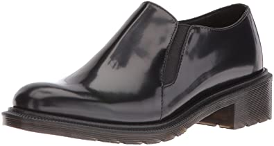47bdc26285e Dr. Martens Women s Rosyna Wax Polished Smooth Slip-On Loafer