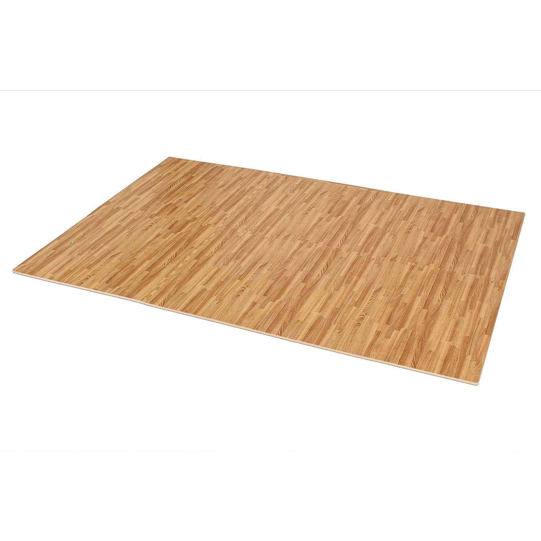 Floor mats price in chennai - Amazon Com We Sell Mats Printed Wood Grain 2 X 2 X 3 8 Interlocking Foam Floor Mats Sports Outdoors