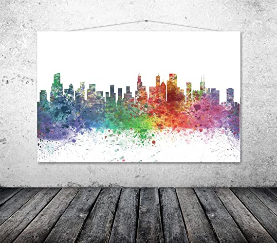 34a61bb150f Image Unavailable. Image not available for. Color  Chicago Art Print ...