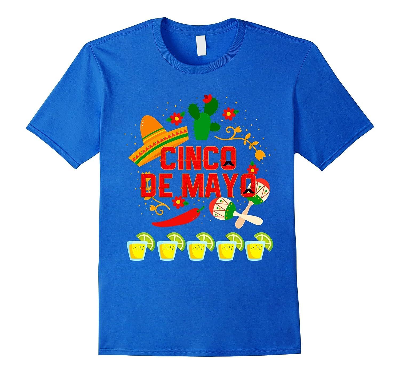 Fiesta Cinco De Mayo T-Shirt Cinco De Mayo Costume Shirt-alottee gift