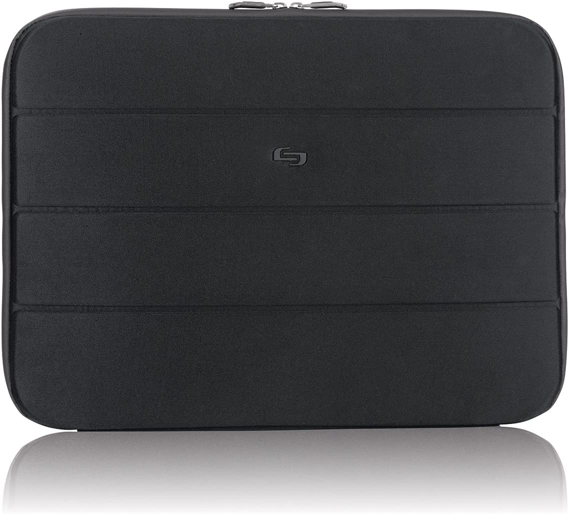 Solo Bond 17.3 Inch Laptop Sleeve, Black