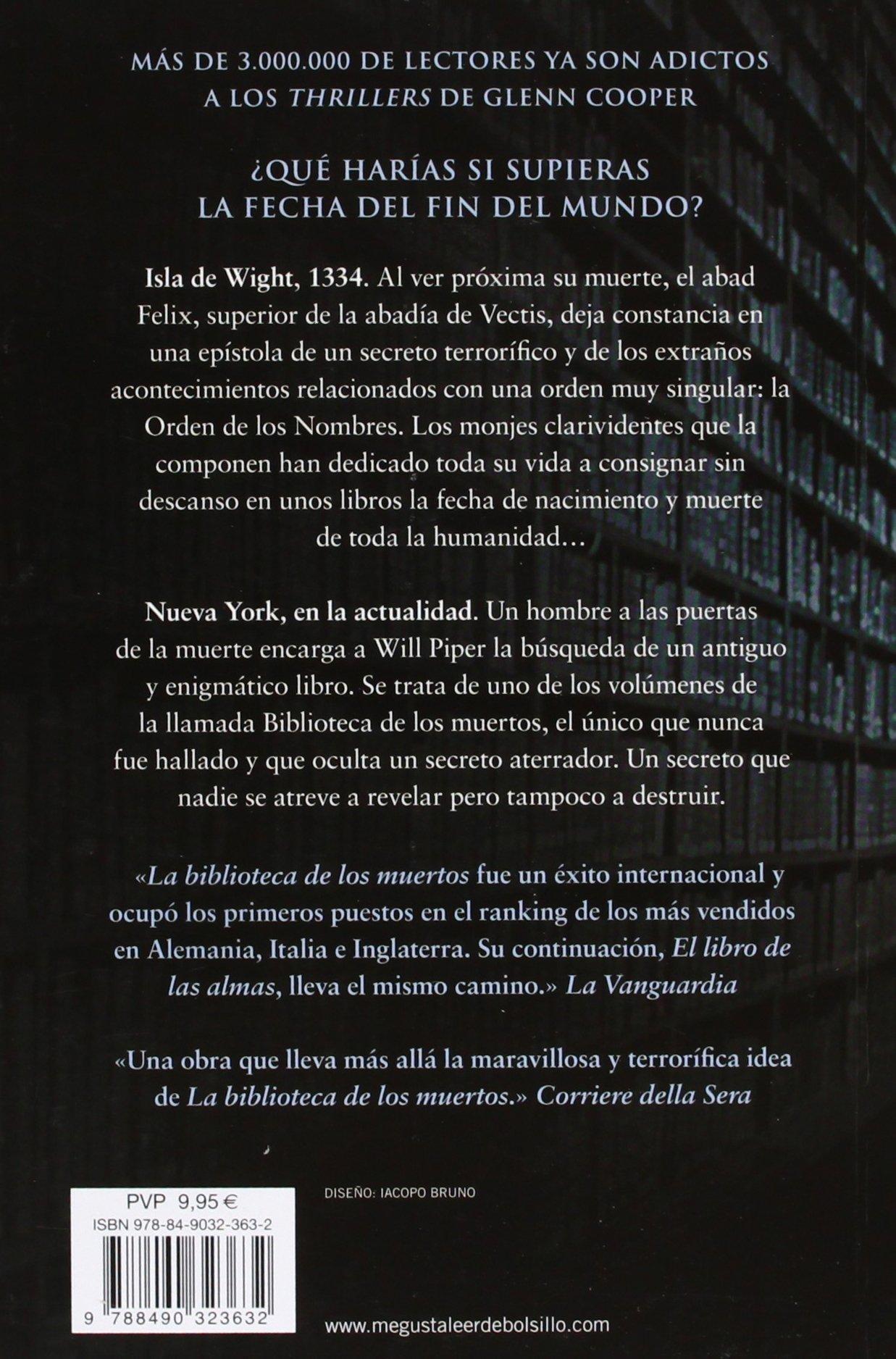 El libro de las almas La biblioteca de los muertos 2: Amazon.es ...