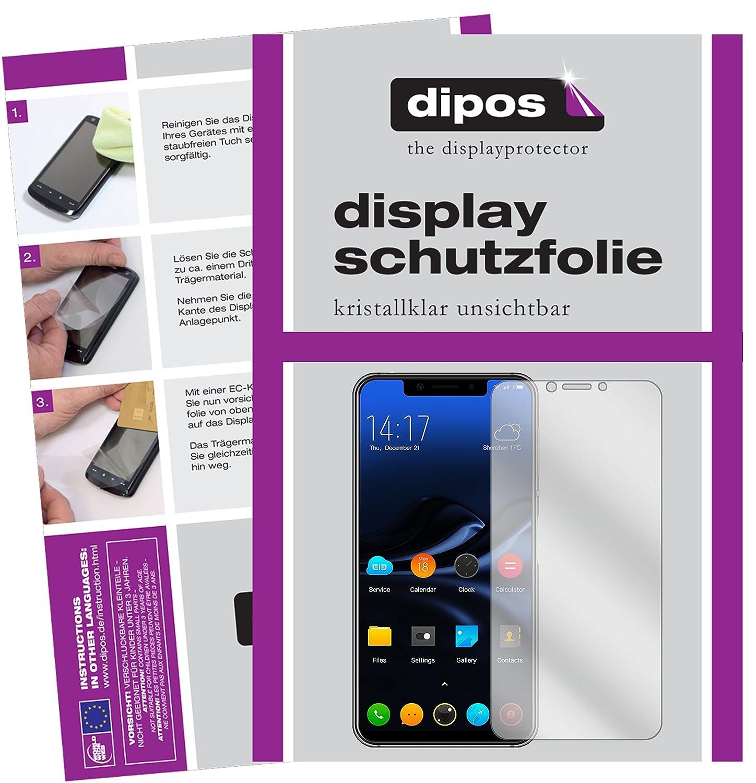 dipos I 2X Protector de Pantalla Compatible con Elephone A4 ...