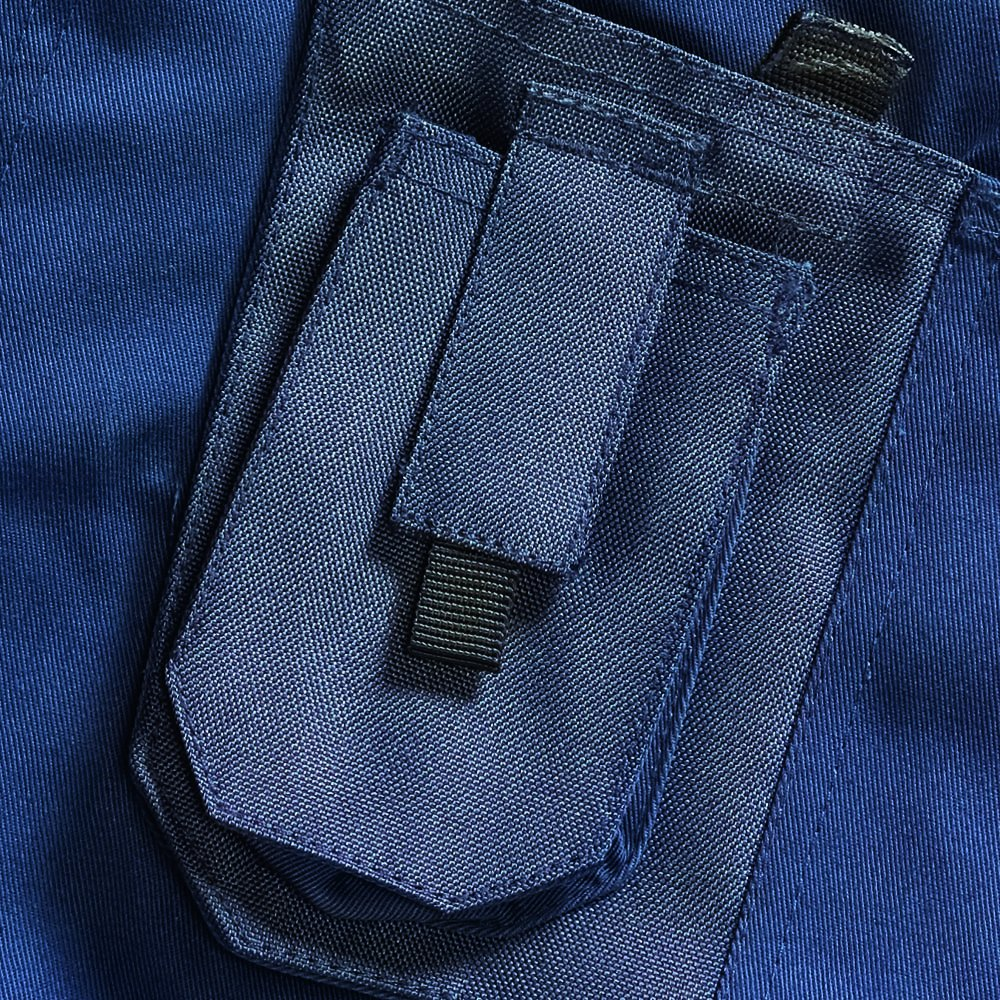 con Tasche Blackrock Colore: Nero Pantaloncini da Lavoro Navy Grigio