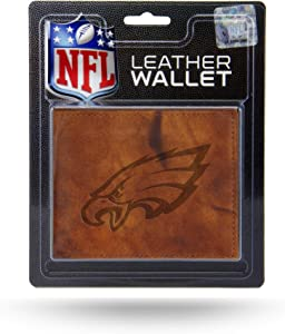 Rico Industries NFL Arizona Cardinals Embossed Leather Billfold Wallet with Man Made Interior