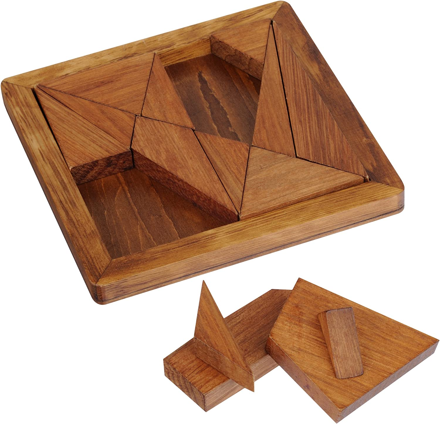 The Great Minds Range Archimedes Tangram Puzzle