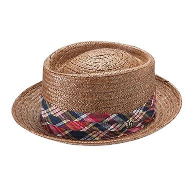 c4beae654e0738 Stetson Men's Madrigal Straw Pork Pie Hat at Amazon Men's Clothing ...