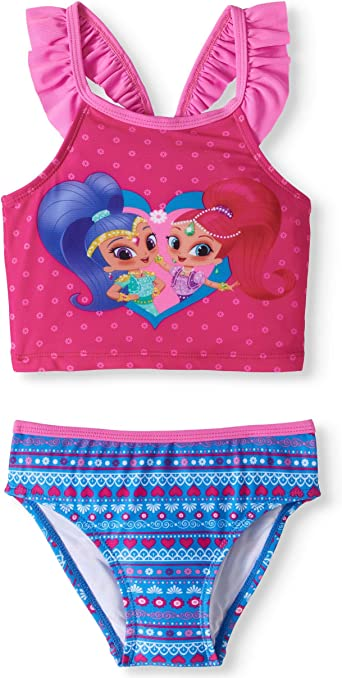 Shimmer And Shine Shimmer /& Shine Girls Swimsuit