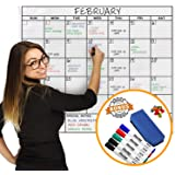 Amazon.com : Laminated Jumbo Wall Calendar : Large