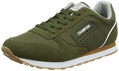 Champion Low Cut Shoe C.j. Ripstop, Zapatillas para Hombre, Verde (Military Green Gs526), 41 EU