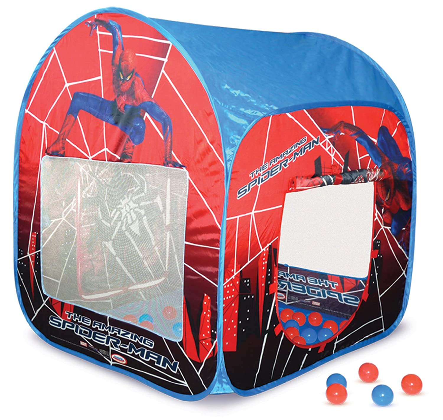 sc 1 st  Amazon UK & Spider Man Tent with 50 Balls: Amazon.co.uk: Toys u0026 Games