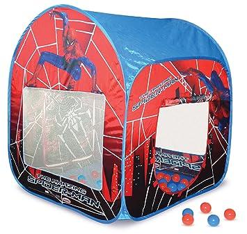 Spider Man Tent with 50 Balls  sc 1 st  Amazon UK & Spider Man Tent with 50 Balls: Amazon.co.uk: Toys u0026 Games