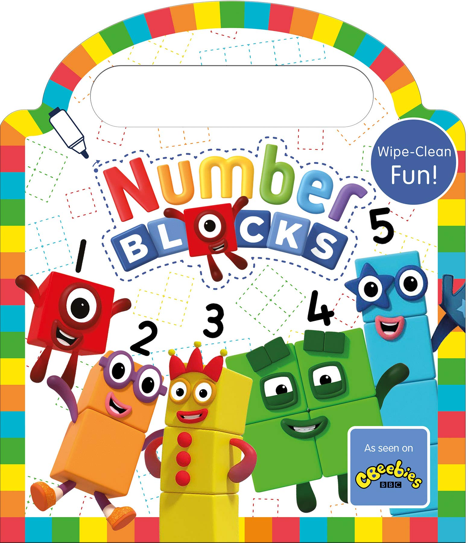 CBeebies Numberblocks 1-10 Number Blocks.100/% Genuine sale reduced