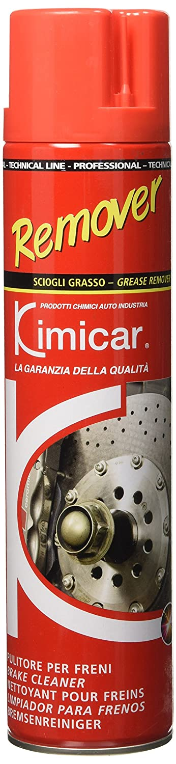 Kimicar 2360600 Remover Spray Nettoyant Freins 600 ml Incolore Set de 1 KIMICAR SRL