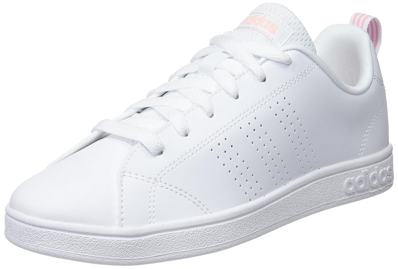 adidas Vs Advantage CL W, Zapatillas de Deporte Para Mujer 39 1/3 EU|Blanco (Ftwbla/Corneb 000)