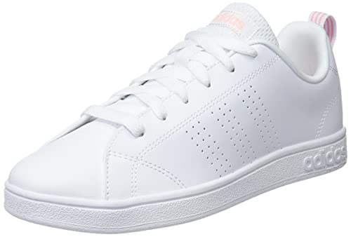 sports shoes 07a54 d1032 adidas Vs Advantage Cl Scarpe da Tennis Donna, Bianco Ftwwht Hazcor 000, 36