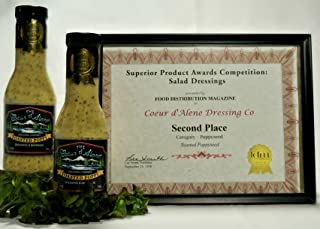 product image for The Coeur d'Alene Dressing Company - Award Winning Toasted Poppy Dressing and Marinade - Two 12 ounce Jars.