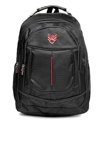 Swiss Eagle 24 Ltrs Black School Backpack  SE3711BKRD  Laptop Backpacks