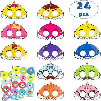 Amazon.com: MALLMALL6 - Máscaras de tiburón para fiestas de ...