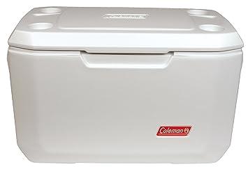 Coleman passive K/ühlbox 100Qt Xtreme Marine mit UV Schutz mobile Thermobox mit 90L Fassungsverm/ögen k/ühlt bis zu 5 Tage Hochleistungsk/ühlbox