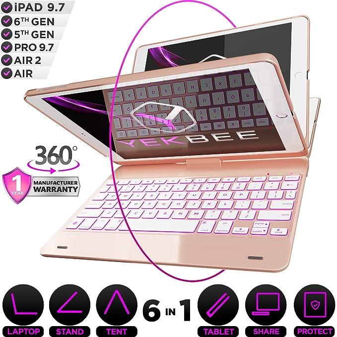 iPad 加受Keyboard Case,如同随身携带的小型电脑,轻松使用