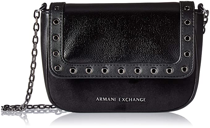 58c12d909f A|X Armani Exchange Small Grommets Crossbody Bag