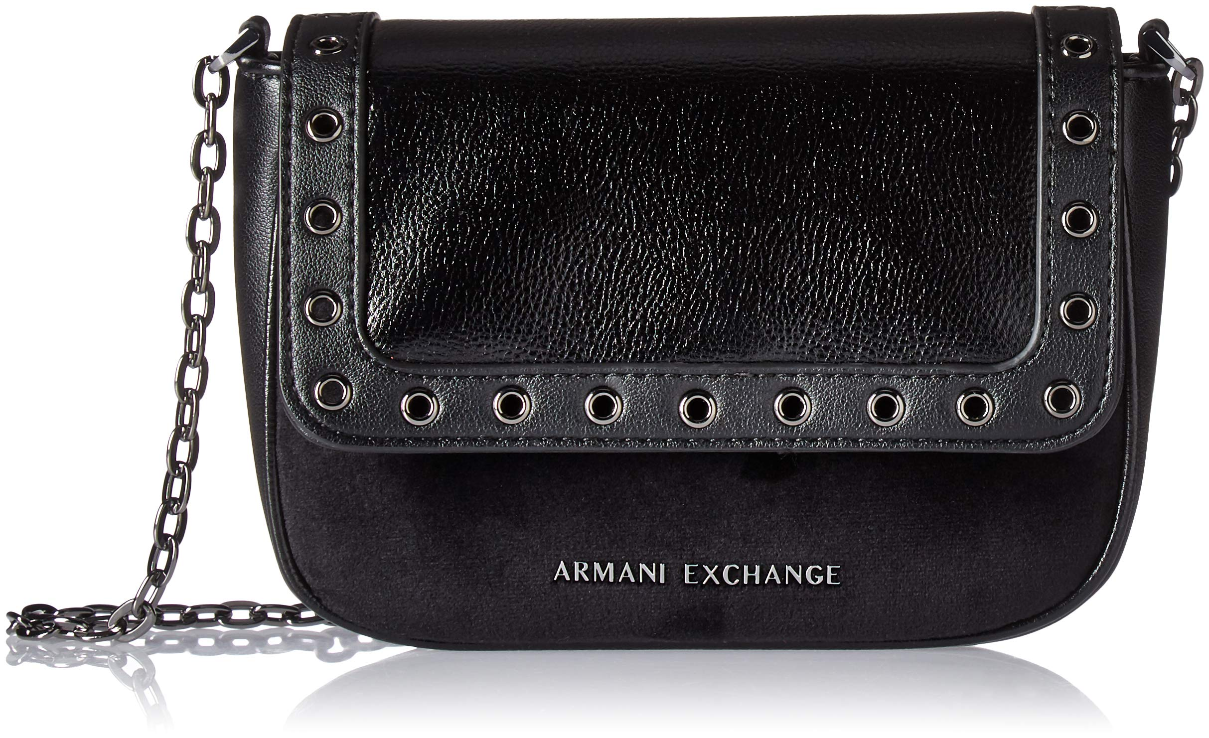 A|X Armani Exchange Small Grommets Crossbody