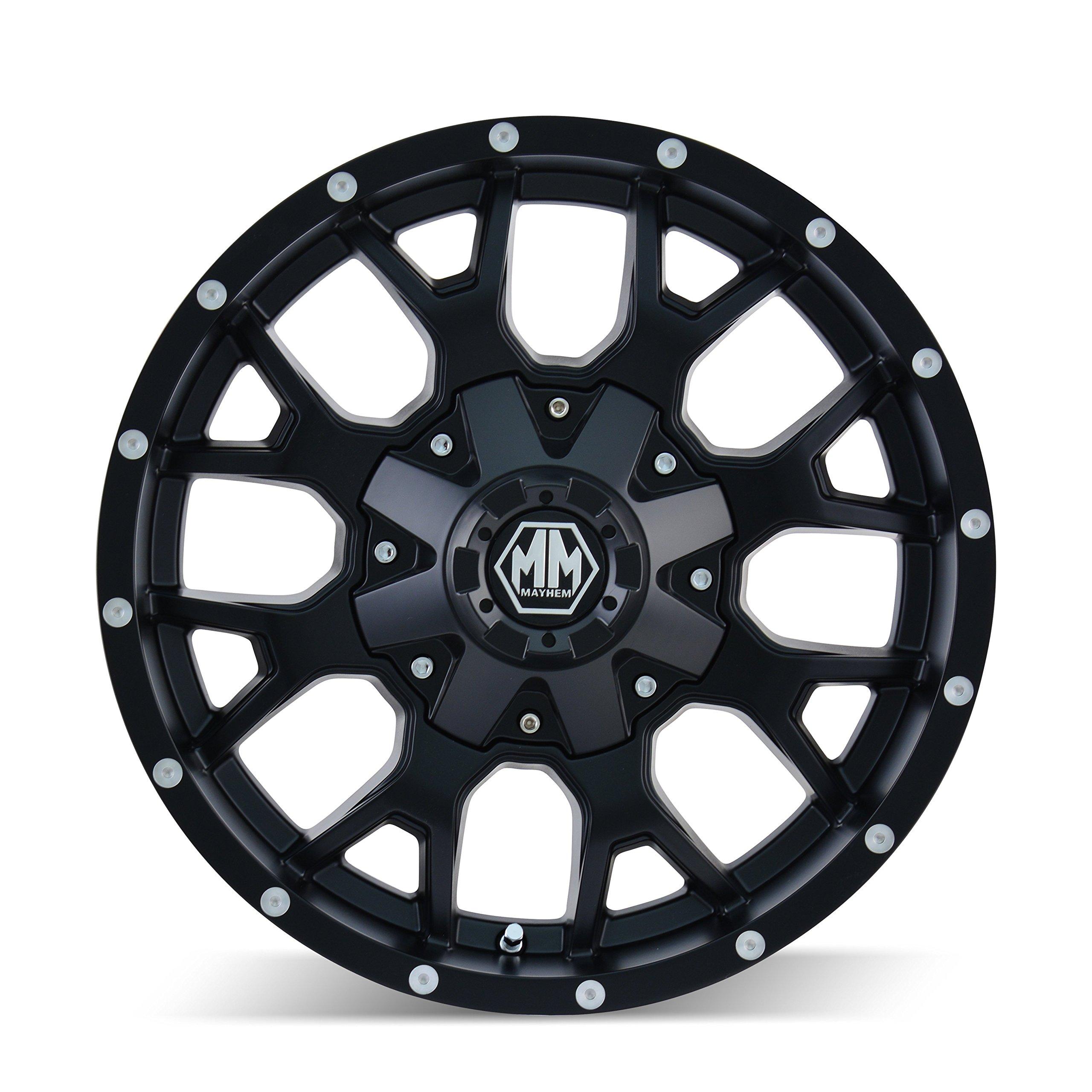 Mayhem Warrior 8015 Wheel with Matte Black Finish (18x9''/10x150mm)