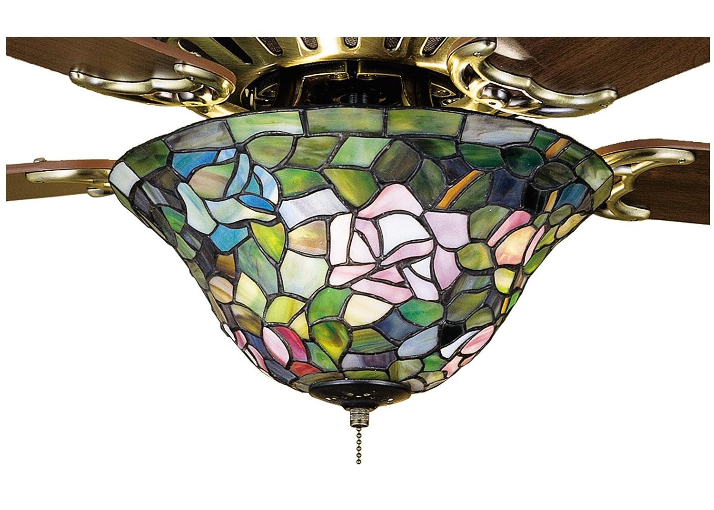 Tiffany rosebush fan light fixture ceiling fan light kits amazon aloadofball Gallery