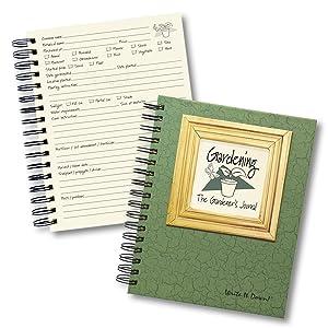The Gardener's Journal - Dark Green Spiral Bound