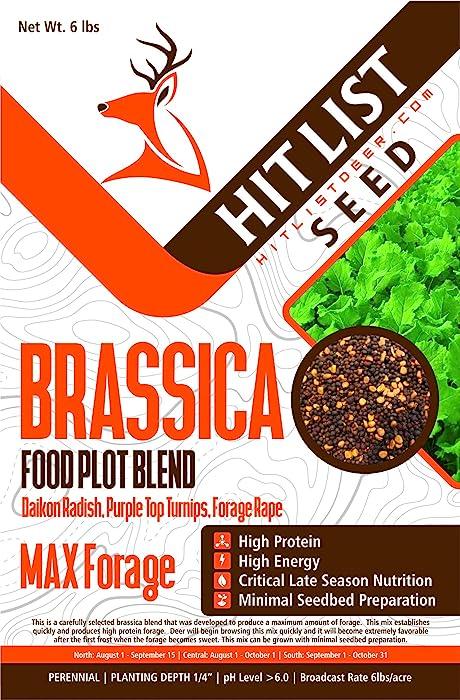 Top 9 Brassica Food Plot Seed