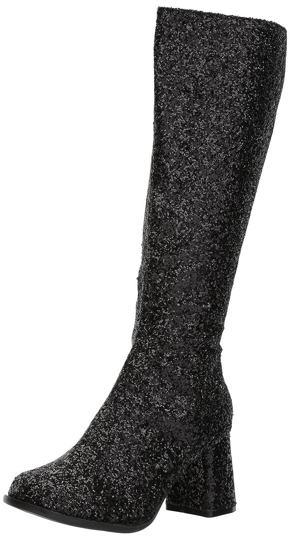 Ellie Shoes Women's Gogo-g Chelsea Boot B074GX1WQC 5 B(M) US|Black Glitter