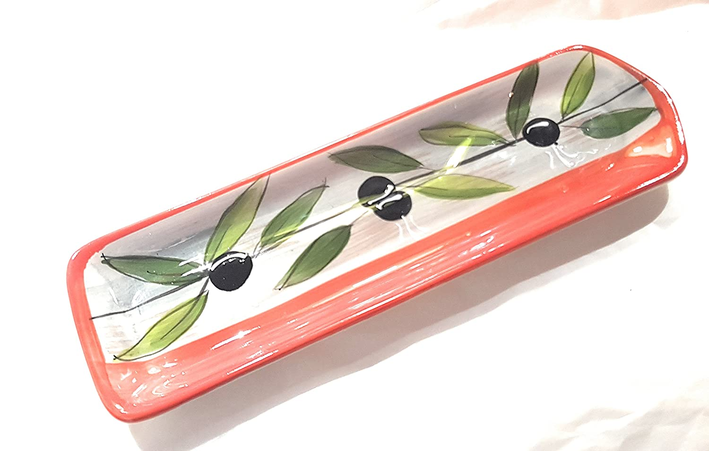 Bagno Picholine Ceramic Spoon Rest Orange