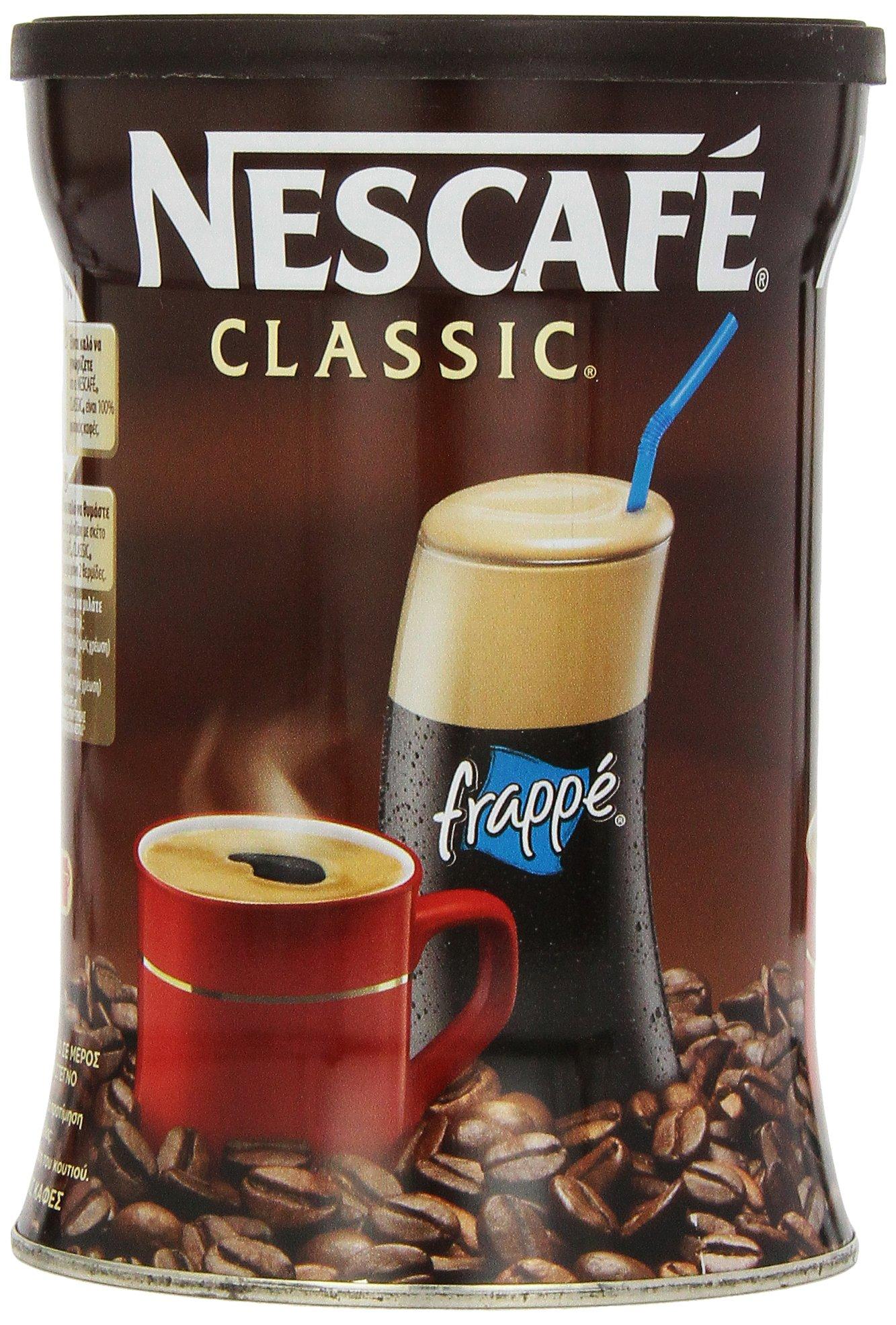 Nescafe Classic Instant Greek Coffee, 7.08 Ounce